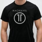 TSHIRT-Machiavel 11 black