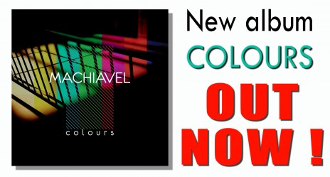 Album Colours Out Now